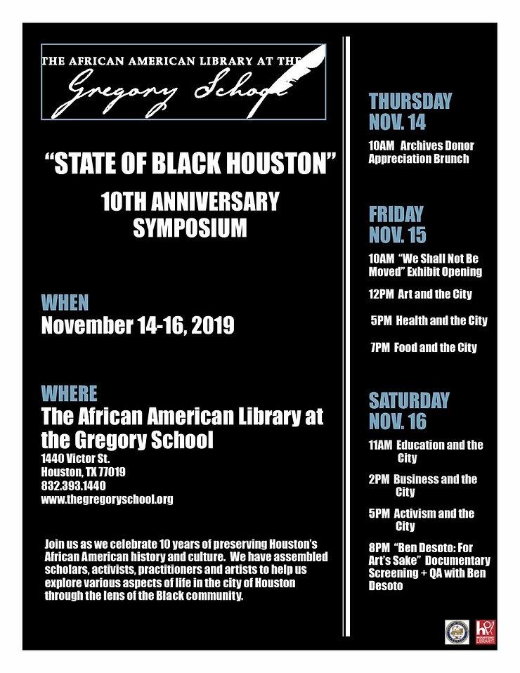 State of Black Houston