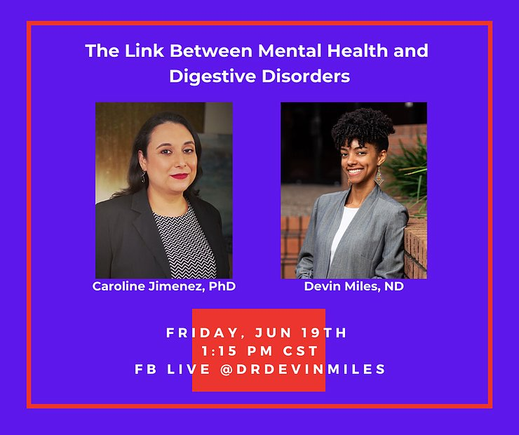 The link between mental health and digestive disorders